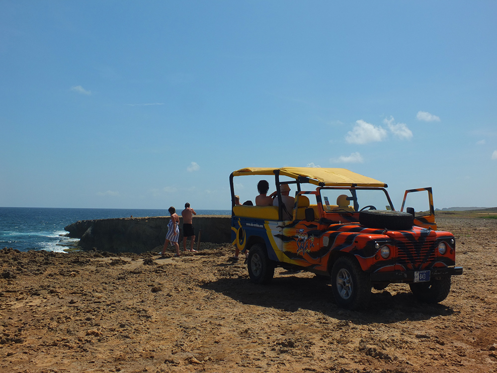 ABC Jeep Tours Aruba - Hidden Natural Pool