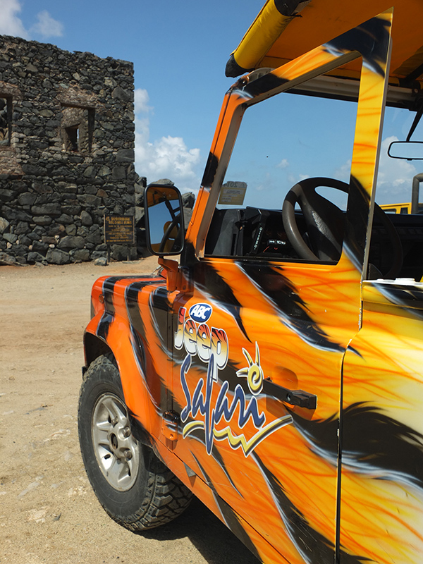 ABC Jeep Tours Aruba Bushiribana Gold Mill Ruins