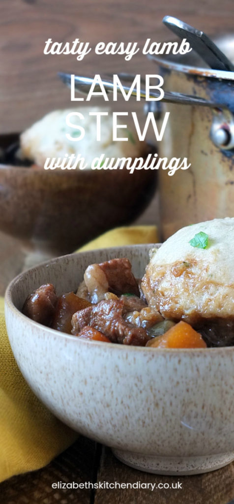 Tasty Easy Lamb Stew With Herbed Dumplings Elizabeth S