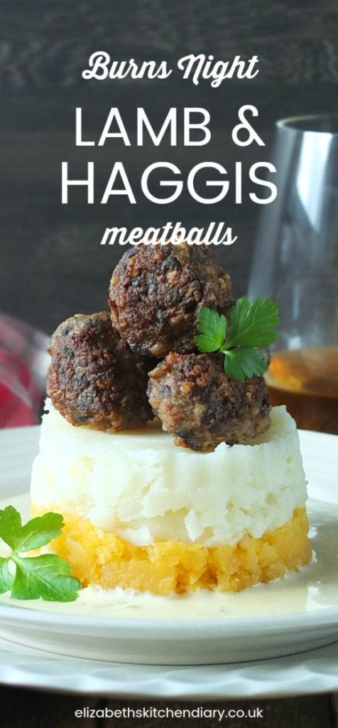 Lamb and Haggis Meatballs with Whisky Cream Sauce Pinterest