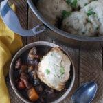 Tasty Easy Lamb Stew with Herbed Dumplings