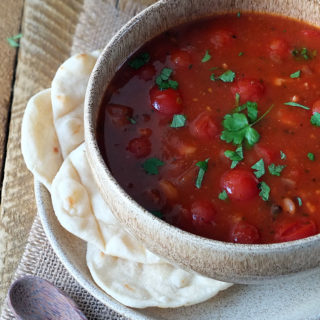 Tomato, Lentil and Bacon Soup