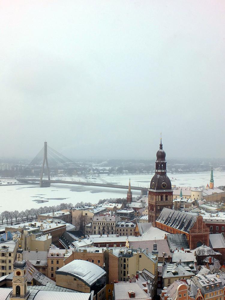 A Visit to Riga Latvia