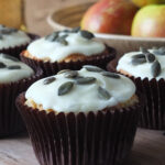 Apple & Ginger Muffins with Cider Frosting