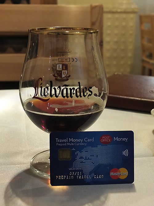 Leilvardes Dark, Latvian Beer