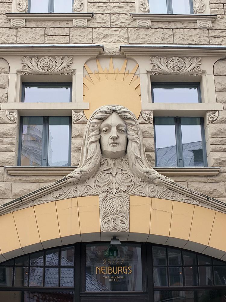 Neiburgs Hotel Front Riga