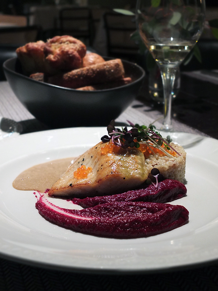 Neiburgs Restaurant, Riga - Main: Sturgeon