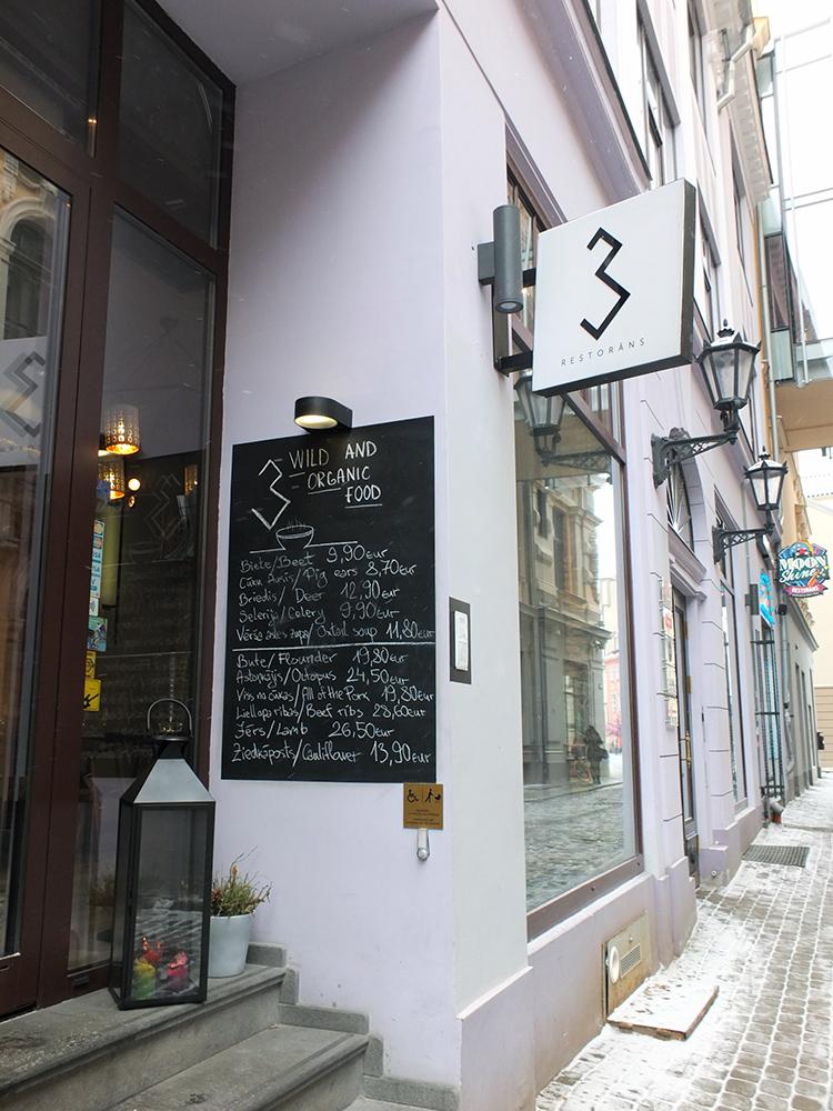 Restorāns 3 Riga Latvia