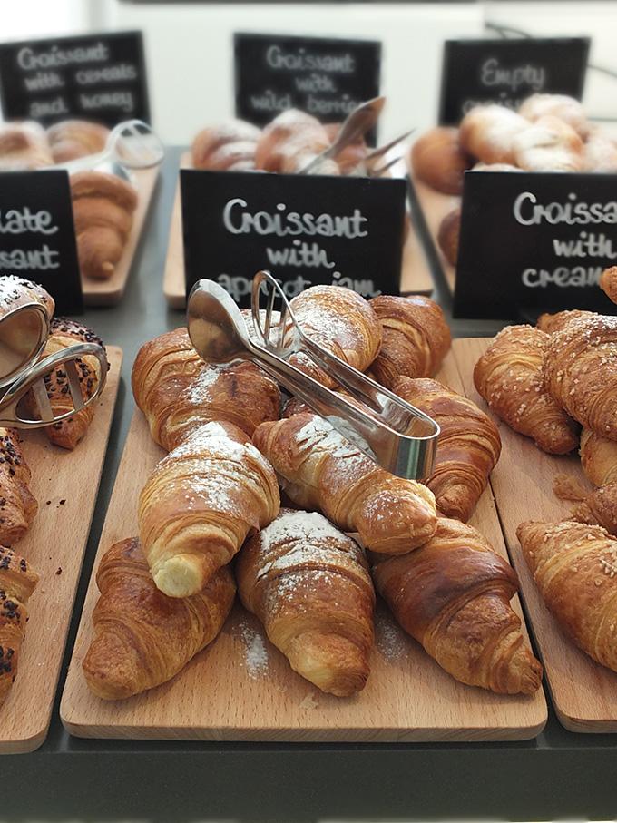 Hotel Luise Riva del Garda Italy Breakfast Croissant
