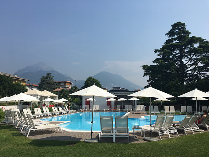 Hotel Luise Riva del Garda Italy Outdoor Swimming Pool