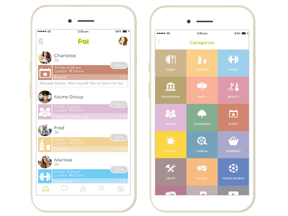 Pal – the free app to meet new people around the world