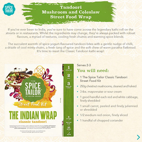 Spice Tailor Street Food Kit