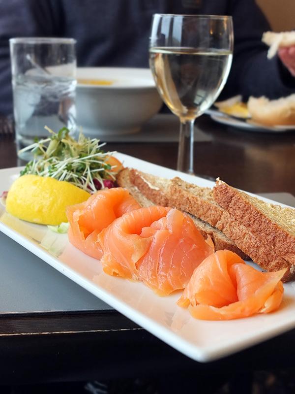 Sumburgh Hotel Shetland Salmon Starter