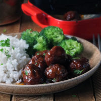 Grandma's Sweet and Sour Meatballs Recipe