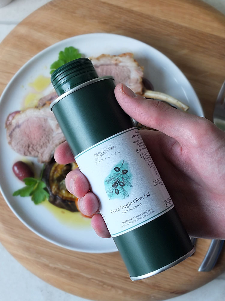 Tariette Mint Flavoured Extra Virgin Olive Oil