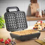 VonShef Dual Belgian Waffle Maker