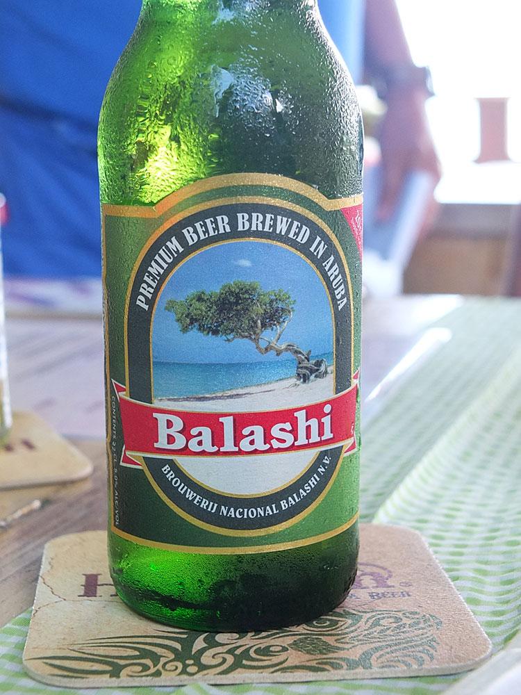Balashi Beer, Aruba