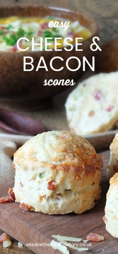 Easy Cheese and Bacon Scones