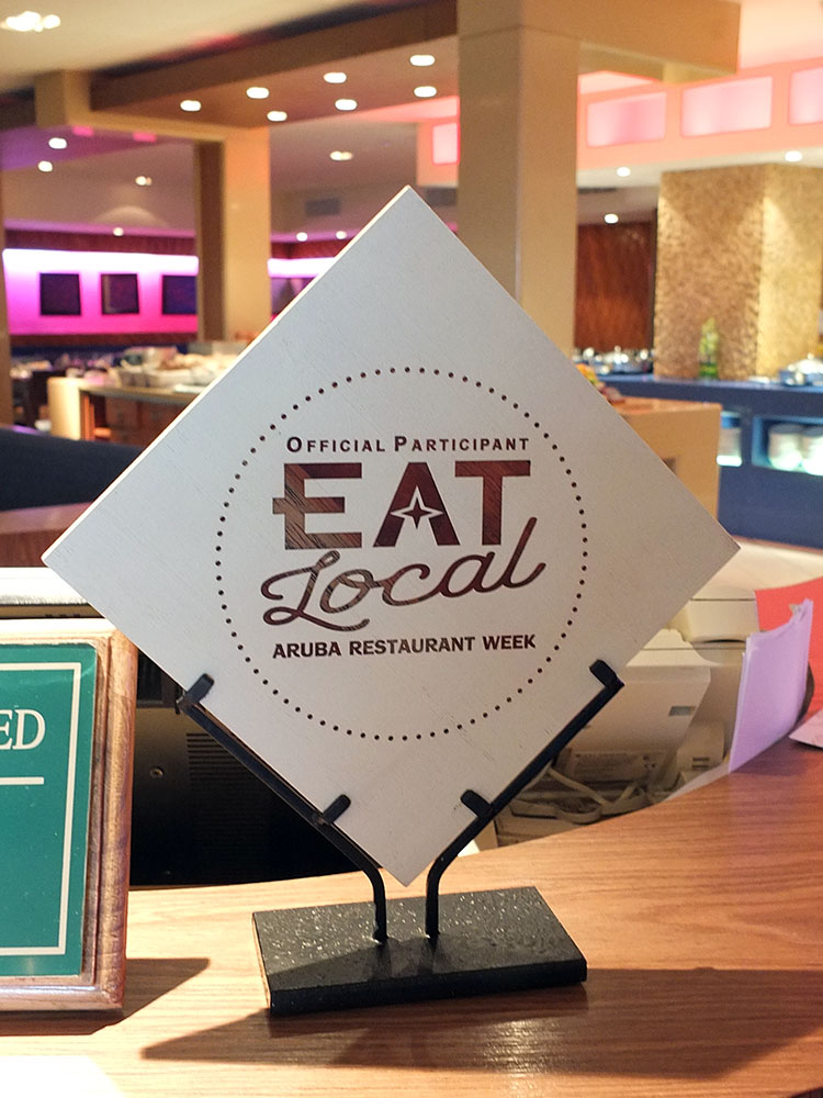 Eat Local Aruba Restaurant Week