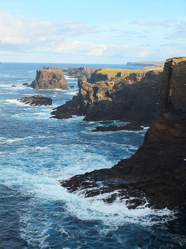Eshaness Cliffs, Shetland Islands