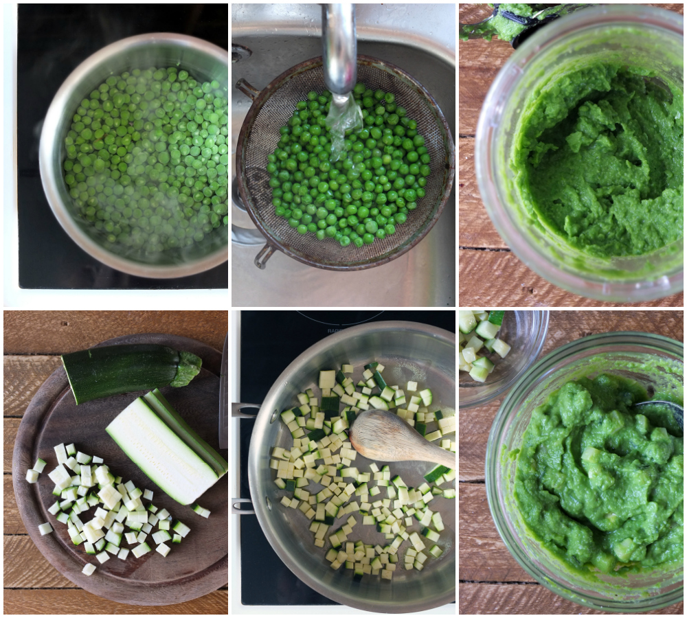 How to Make Pea Puree for Fish