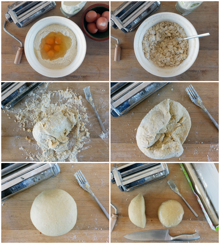 How to make homemade pasta dough step by step instructions