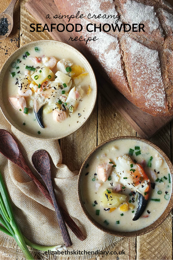 A Simple Creamy Seafood Chowder Recipe