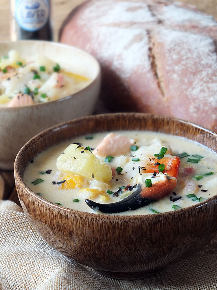 Creamy Seafood Chowder Recipe