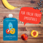 Hello Little Monsters Reusable Baby Food Pouches
