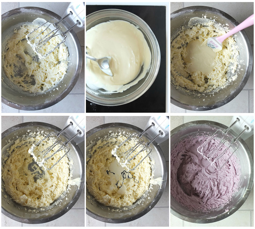 How to Make White Chocolate Buttercream Frosting - a step by step tutorial