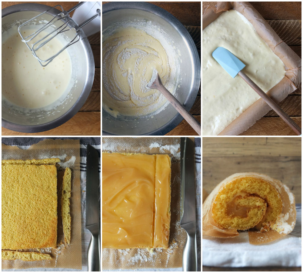 How to Make a Swiss Roll - Step-by-Step Instructions