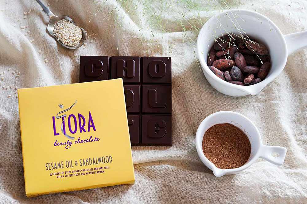 Liora Beauty Chocolate - Sesame and Sandalwood