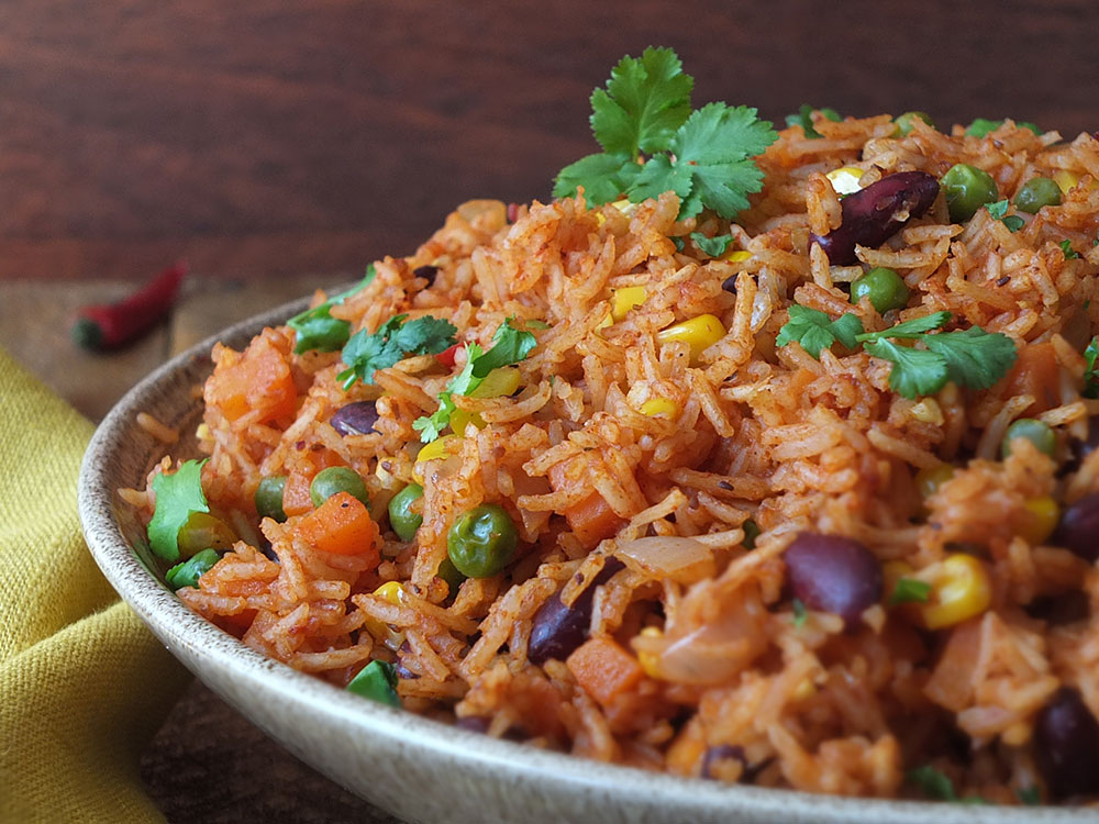 Spicy Mexican Rice and Beans