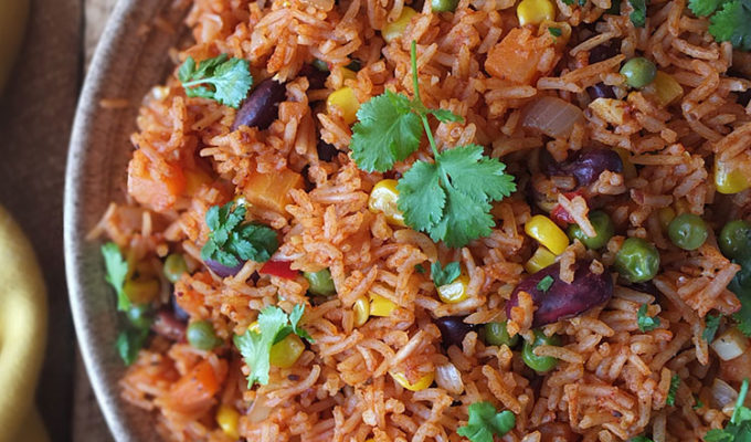 Spicy Mexican Rice and Beans Recipe