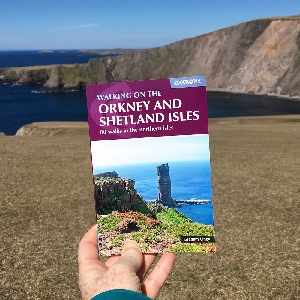Walking on the Orkney and Shetland Islands by Graham Uney