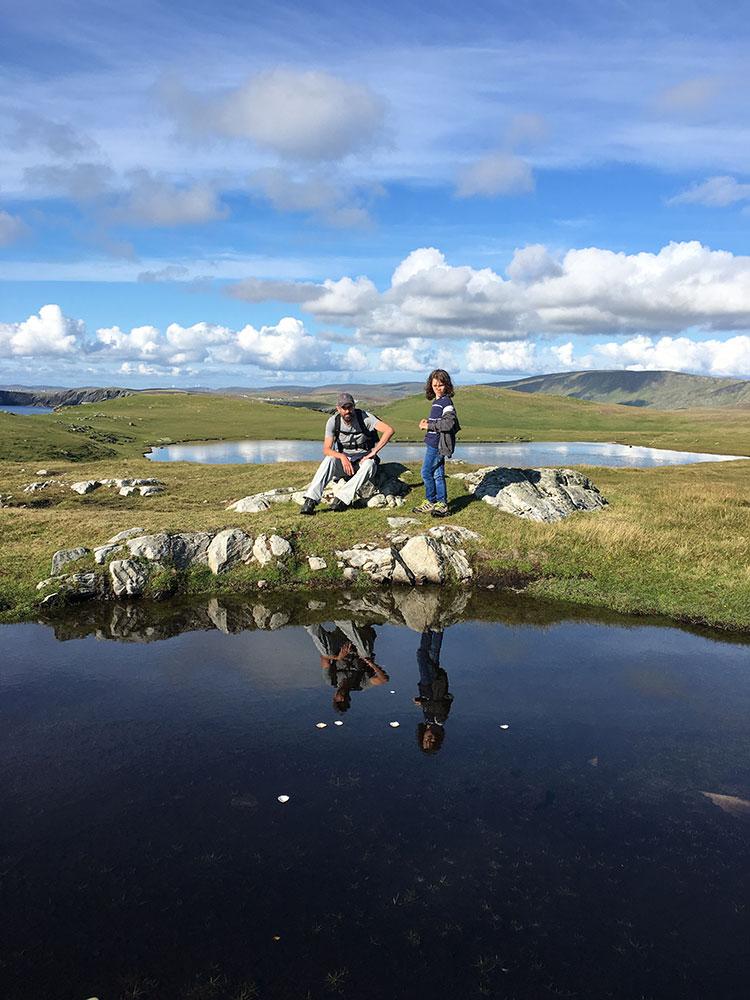West Burra to Kettla Ness Walk, Shetland