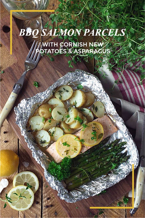 BBQ Salmon Parcels with Cornish New Potatoes