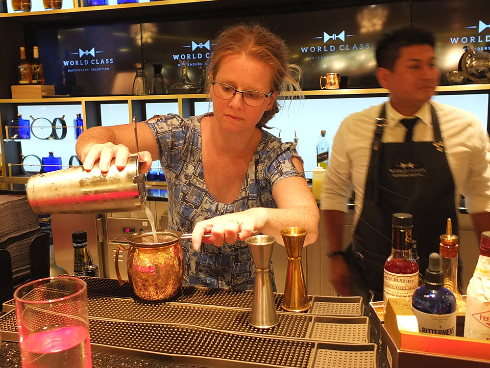 Mixology Class - Celebrity Equinox