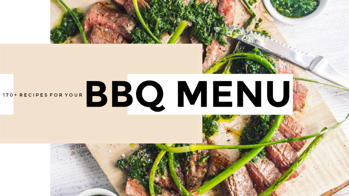 Your Ultimate BBQ Menu Planner with 170+ Recipes!