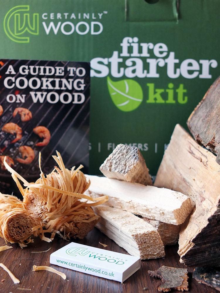 Certainly Wood Fire Starter Kit