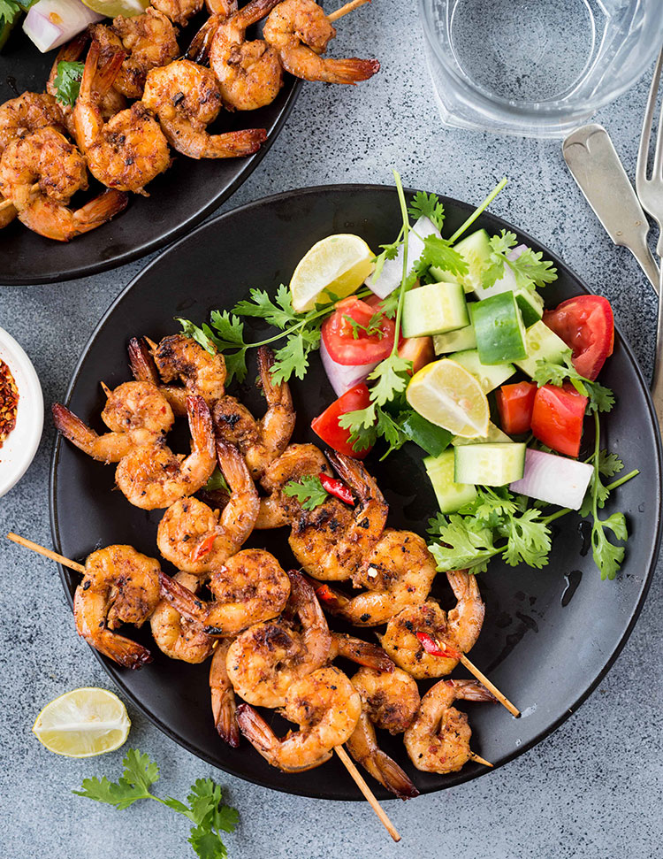 Grilled Vietnamese Shrimp
