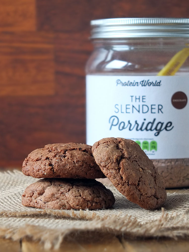 Protein World Chocolate Slender Porridge Cookies