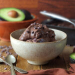 Sugar-Free Vegan Chocolate Avocado Ice Cream