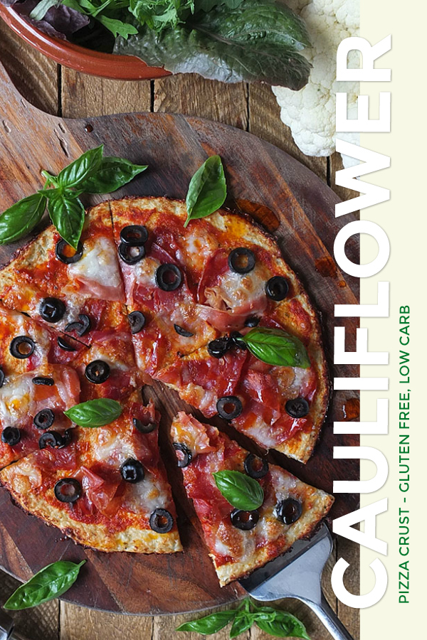 This low carb, high protein, gluten-free pizza crust tastes fantastic, and it comes in at just 220 calories for an entire pizza for one! No microwave needed! #glutenfree #lowcarb #highprotein