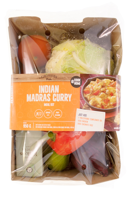 Growers Pride Madras Curry Meal Kit