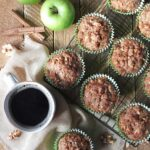 Apple Muffins with Cinnamon-Walnut Streusel Recipe