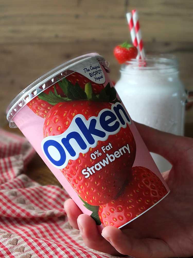 Onken 0% Fat Strawberry Yogurt
