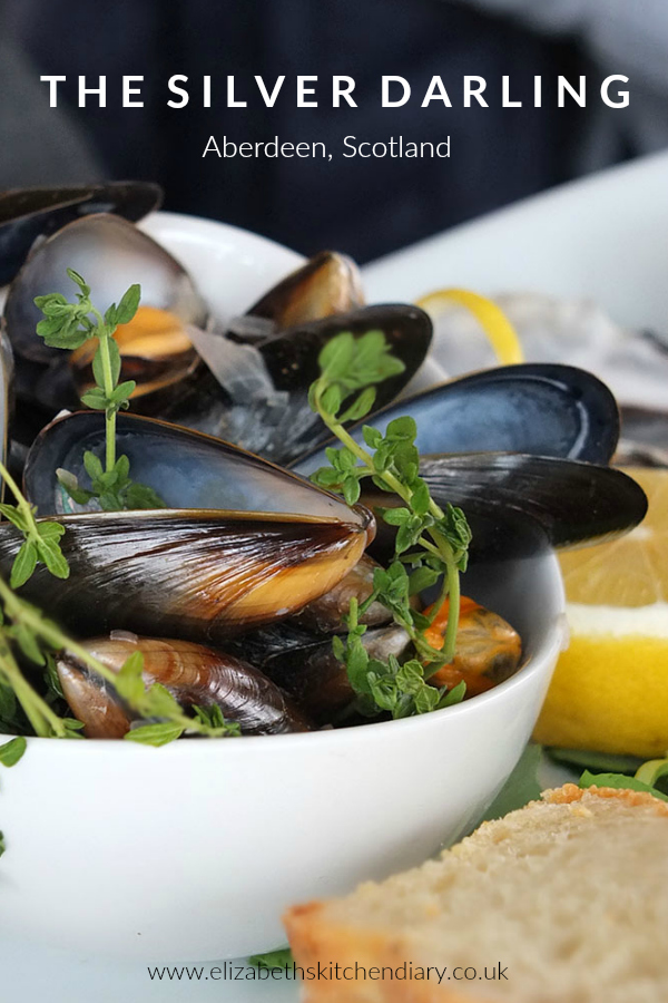 The recently renovated Silver Darling has a seasonal menu created to embrace their unique location and to showcase the very best in Scottish food. #restaurant #scotland