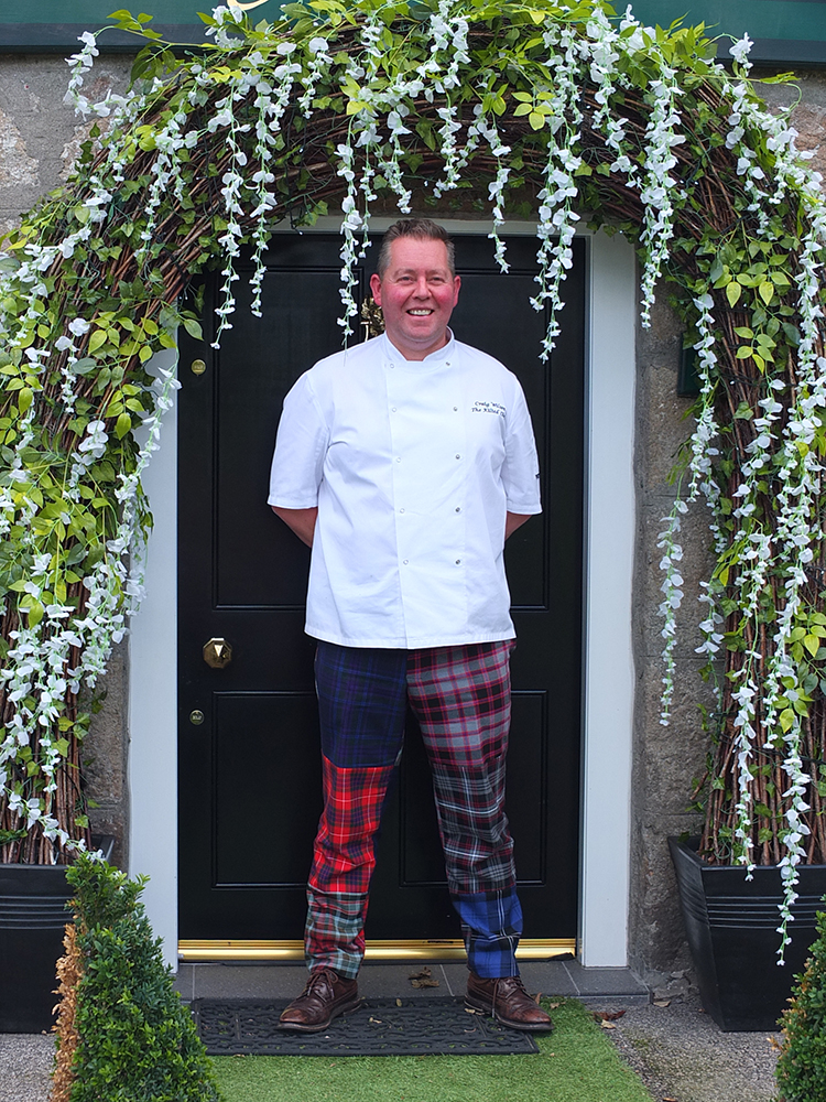 Craig Wilson the Kilted Chef at Eat on the Green