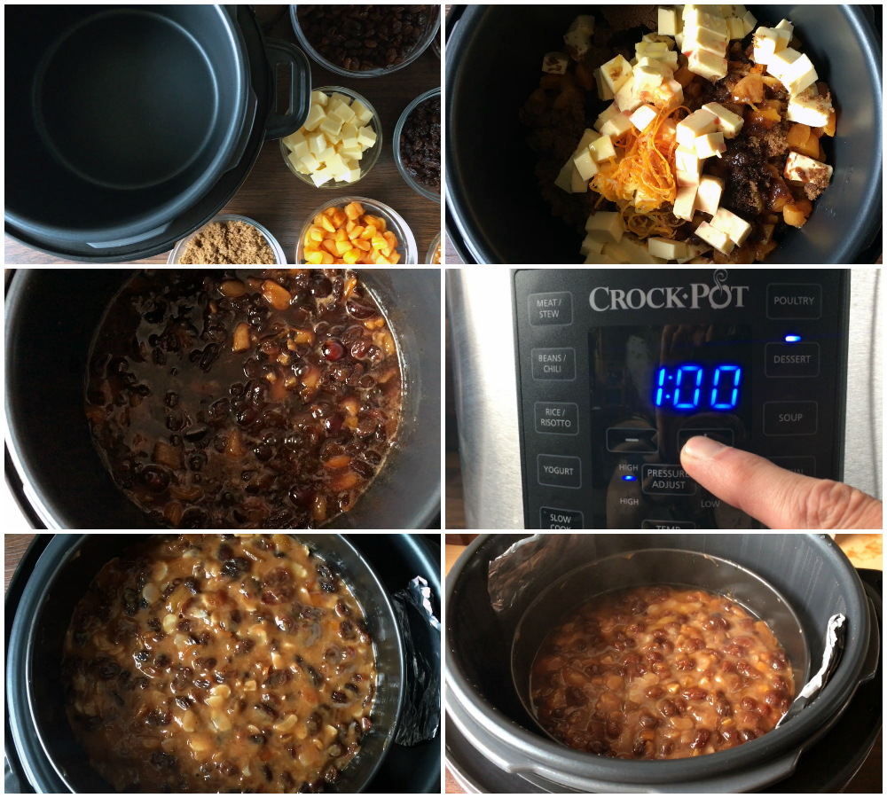 Crock Pot Christmas Cake